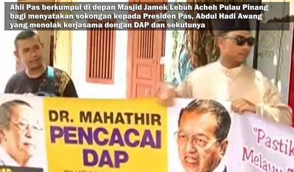 DAP Persenda Impian Mahathir