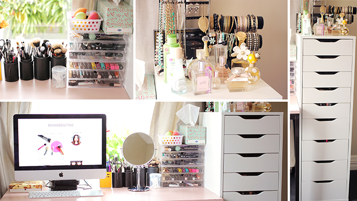 My makeup collection storage december 2014 by bonnie for Ikea ship to new zealand