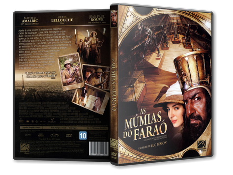 Capa DVD As Múmias do Faraó (Oficial)