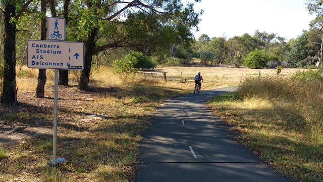 bike path canberra