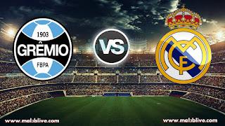 مشاهدة مباراة ريال مدريد وجريميو gremio vs real madrid بث مباشر بتاريخ 16-12-2017 كأس العالم للأندية