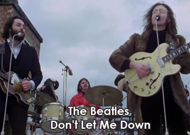 Lyrics, Chords and Video - Don\'t Let Me Down - The Beatles   Lyrics ...