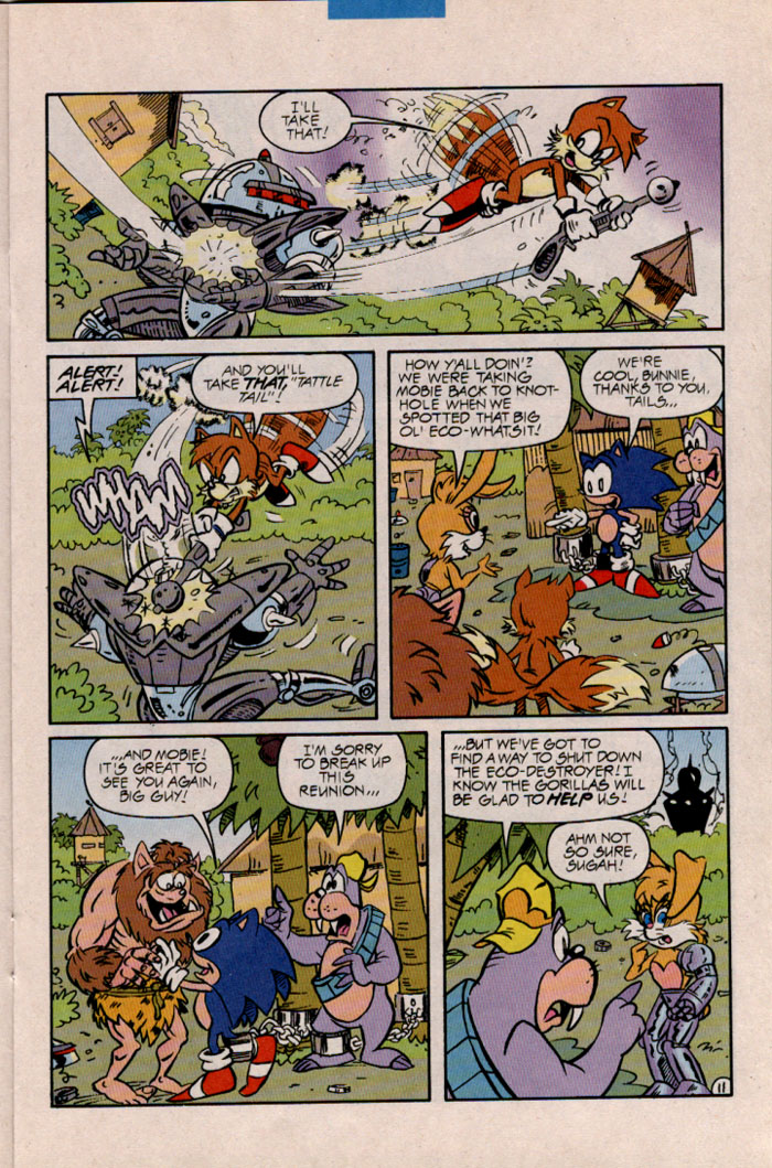 Read online Sonic The Hedgehog comic -  Issue #45 - 12