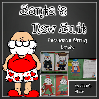https://www.teacherspayteachers.com/Product/Santas-New-Suit-Persuasive-Writing-Activity-ON-SALE-2919251