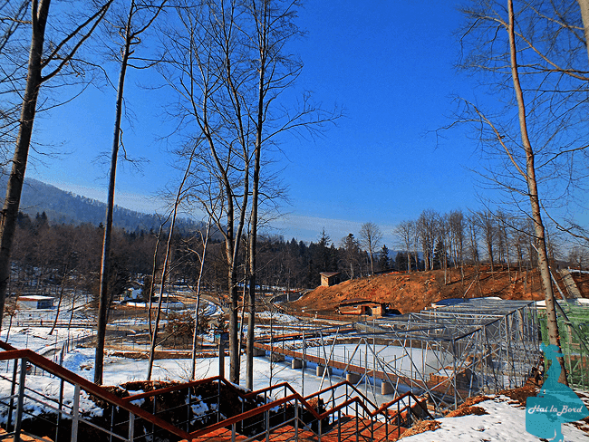 gradina zoologica brasov februarie 2015
