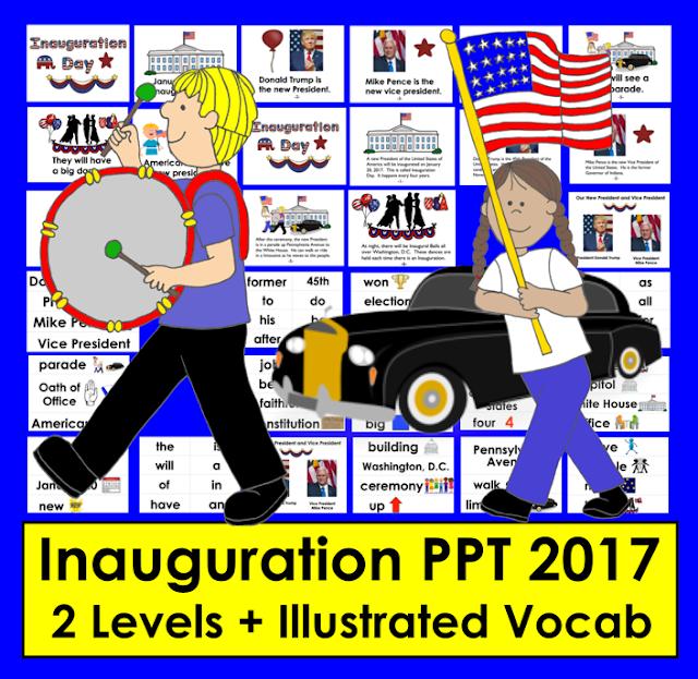 https://www.teacherspayteachers.com/Product/Inauguration-Day-2017-PowerPoint-2-Levels-Illustrated-Vocab-Slides-2879515