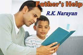 "brief summary of R. K. Narayan's short story ""Father's Help"""