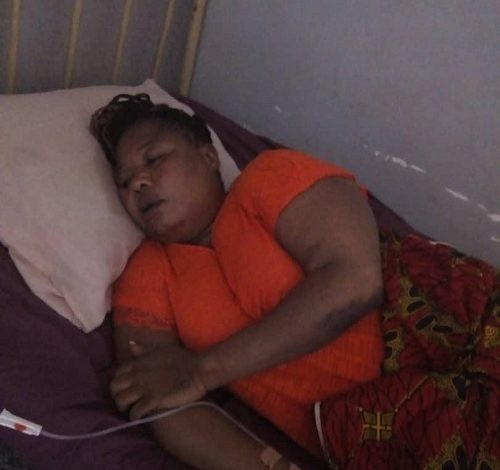 Female Aide To Edo Governor Battered By Council Officials, Left In Critical Condition (Photos)