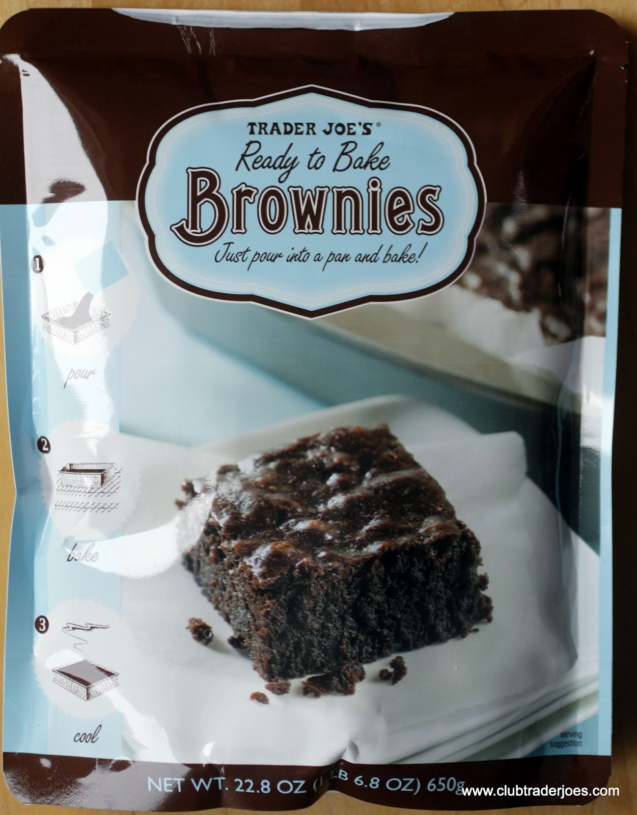 How To Make A Book Cover With A Trader Joe S Bag : Trader joe s ready to bake brownies club