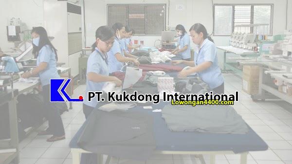 Lowongan Kerja PT. Kukdong International 2019