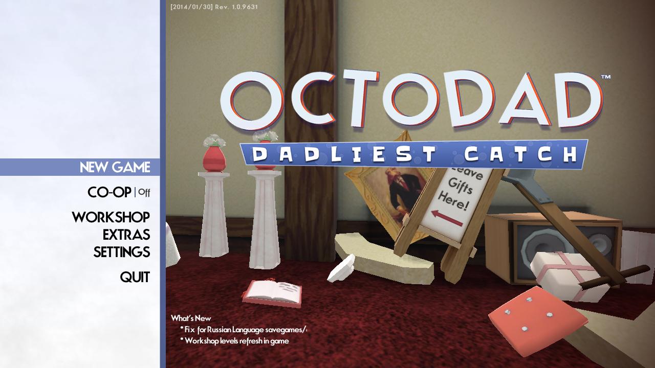 Octodad: dadliest catch (original soundtrack) by seth parker & ian.