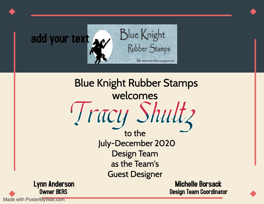 Blue Knight Rubber Stamps Guest Design Team Member