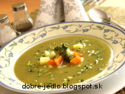 Krémová zemiakovo-brokolicová polievka - recept