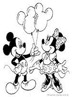mewarnai gambar mickey mouse mewarnai gambar