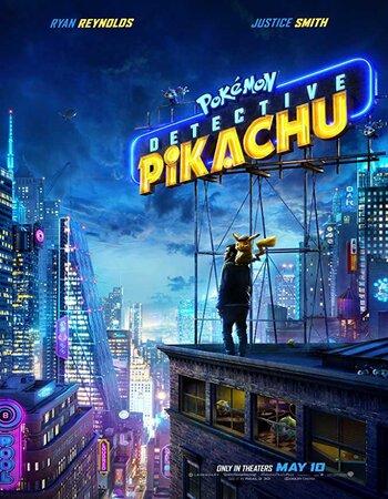 Pokémon Detective Pikachu (2019) English 720p HDRip x264 800MB Movie Download