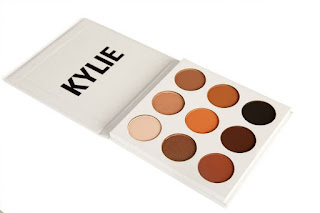 Kylie Eyeshadow Palette, Kylie Jenner Cosmetics, make up, Kylie brown palette