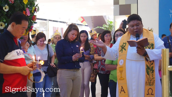 Blessing of Burger King Bacolod