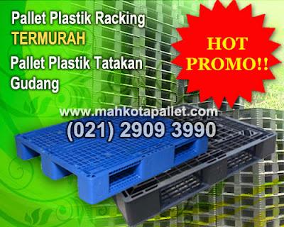 Distributor Pallet Plastik Gudang & Pabrik