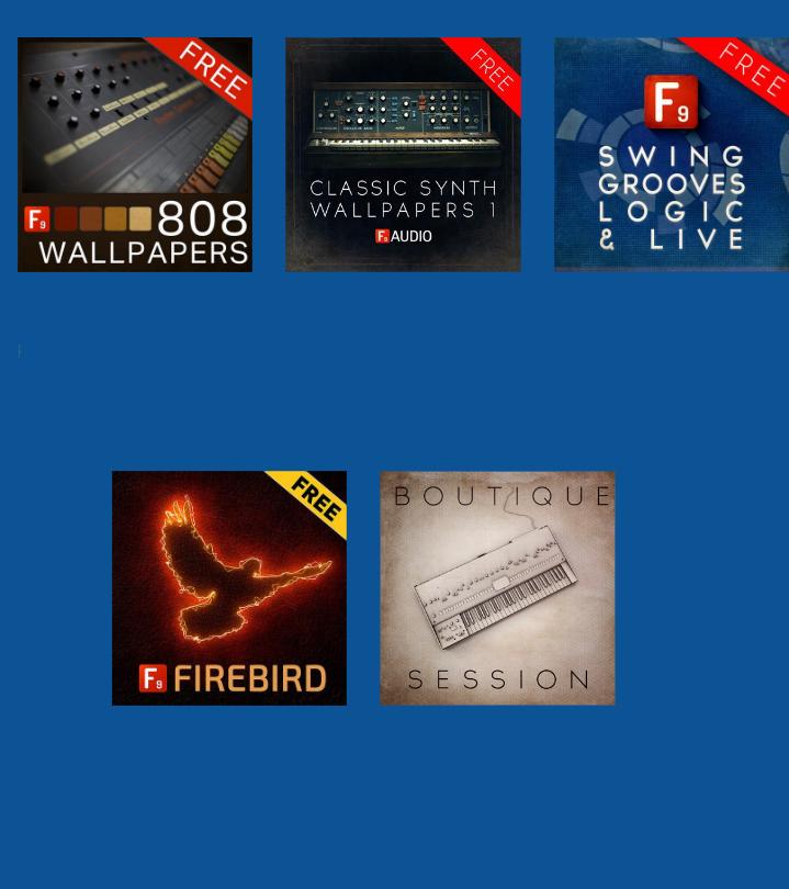 Free audio goodies inside