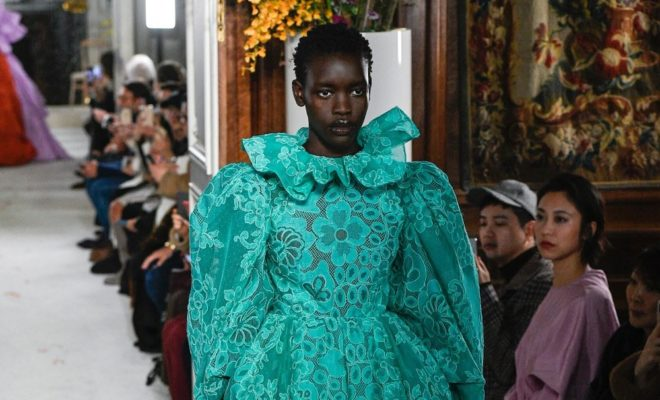 From Uganda To The World: Ayak Veronica Makes International Debut At Paris Fashion Week Alongside Legendary Supermodels Naomi Campbell & Alek Wek