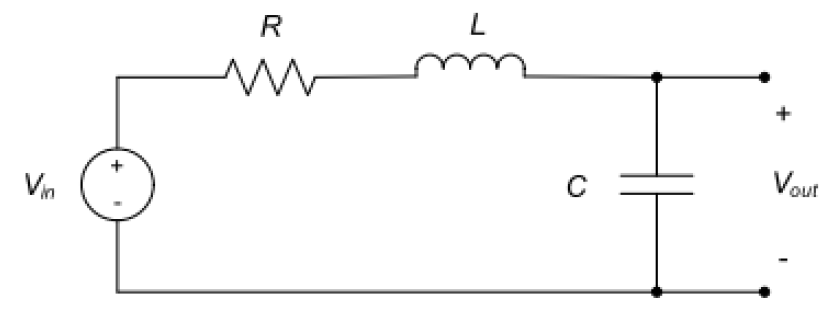 rlc circuit decayed damped oscillation second order differential