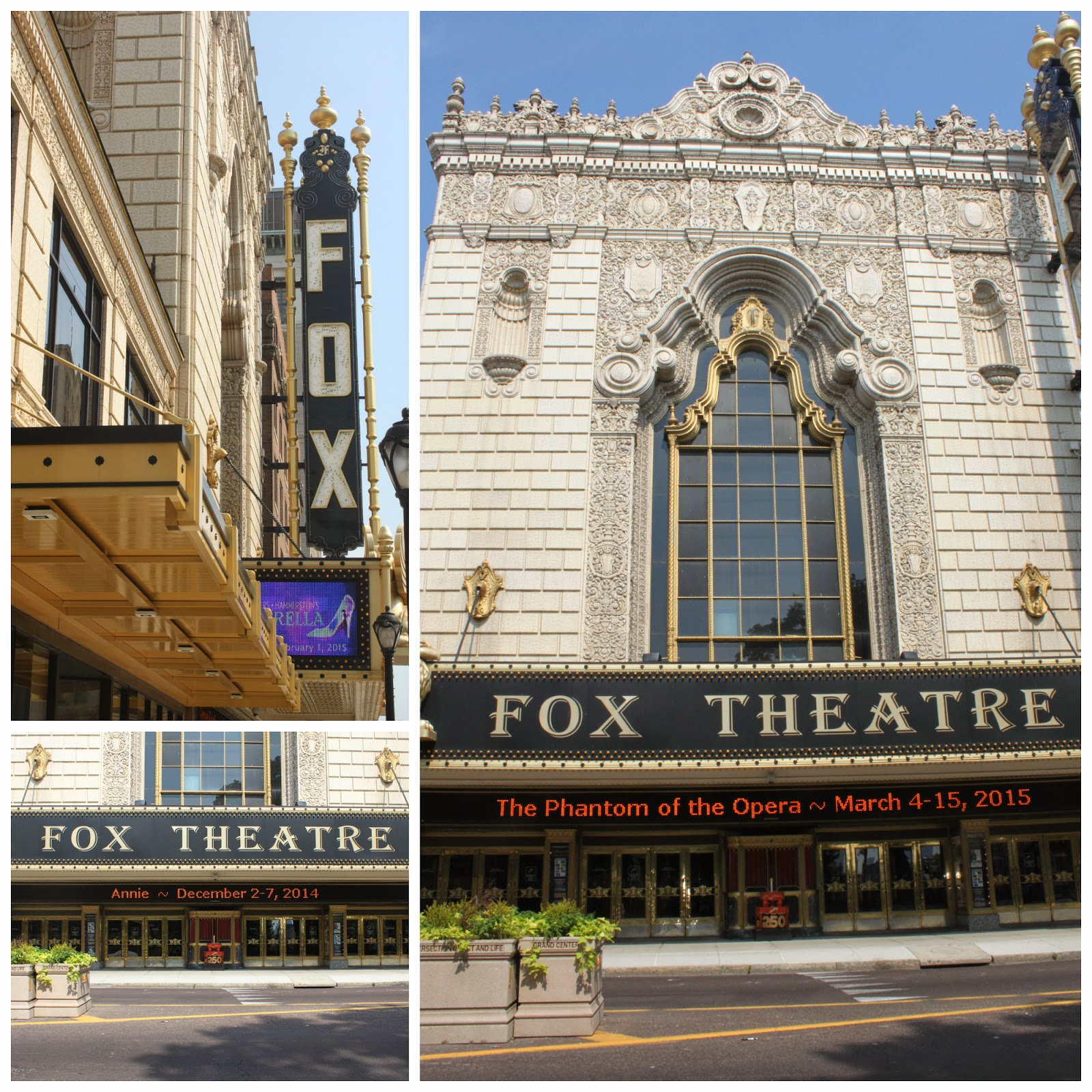 A Magnificent Fox Theatre Wedding Day: Keeping Up With The Kiddos: STL 250 Cake Quest