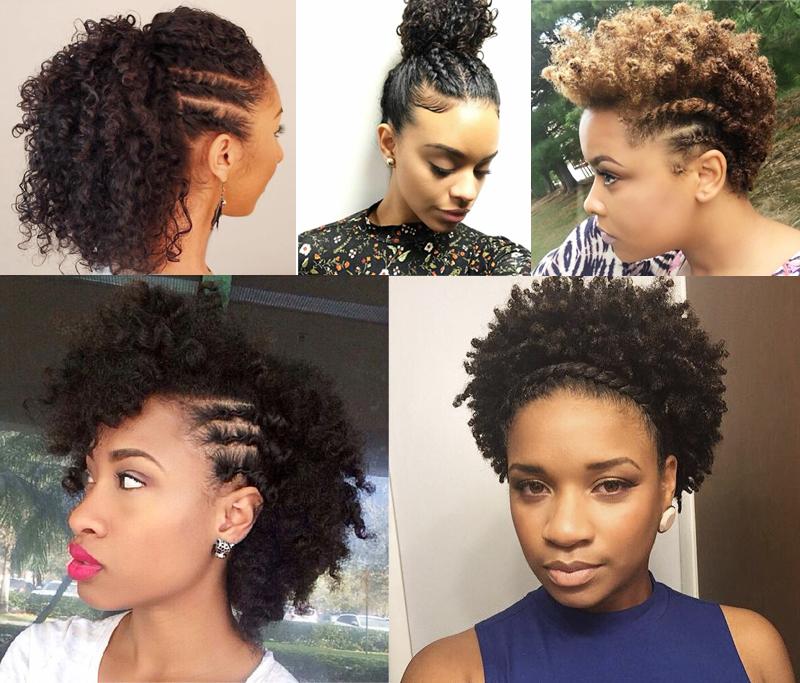 Penteados para cabelo curto cacheado com trança