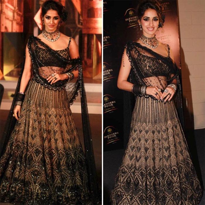 Disha Patani's Latest Photos At Blenders Price Fashion Show!