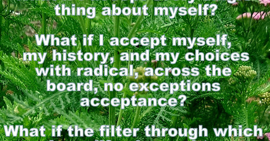 Radical Acceptance of Self