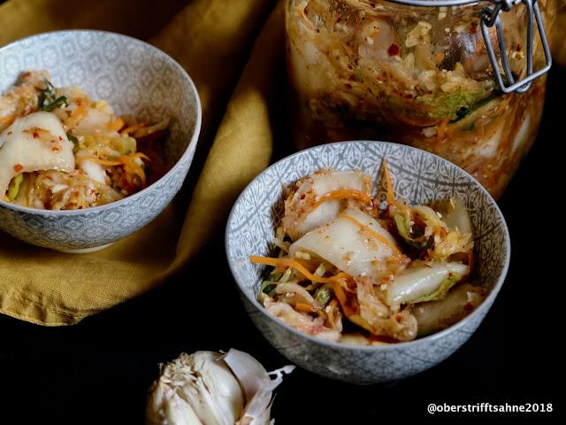 Kimchi mit Kohl