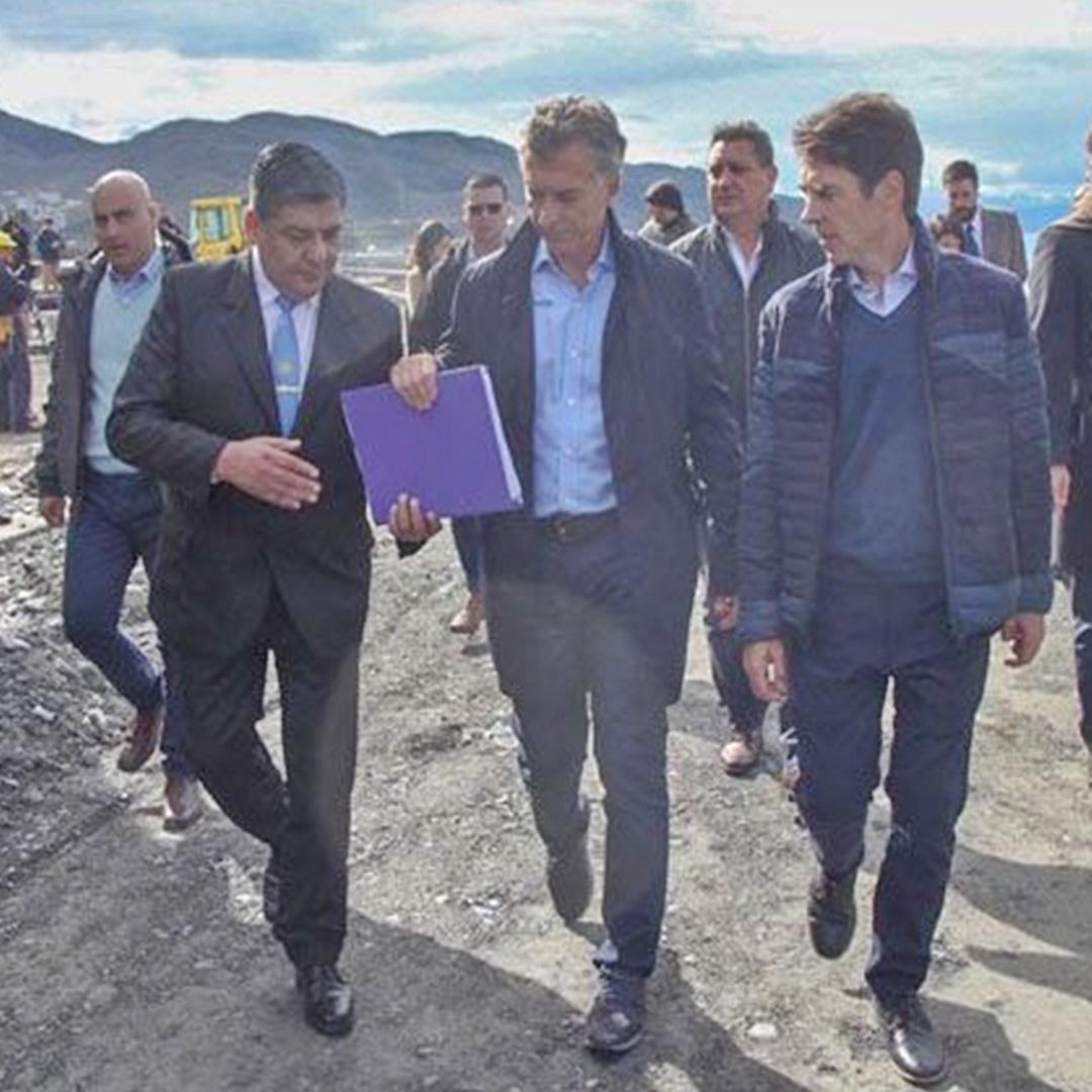 Arcando dio la cara y ademas le reclamo a Macri