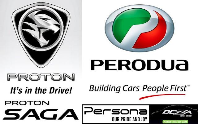 Model kereta baru Perodua Bezza Vs Proton Saga Vs Proton Persona