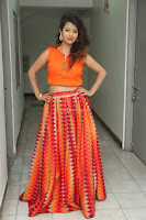 Shubhangi Bant in Orange Lehenga Choli Stunning Beauty ~  Exclusive Celebrities Galleries 009.JPG