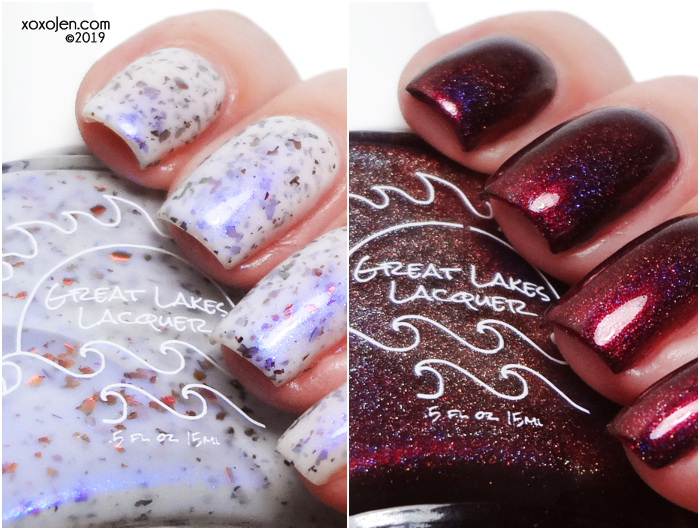 xoxoJen's swatch of Great Lakes Lacquer Fall Duo