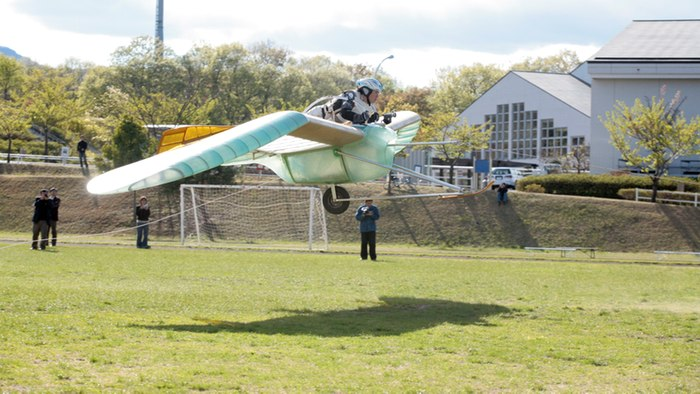 OpenSky jet-powered glider inspired by Japanese anime - World travel