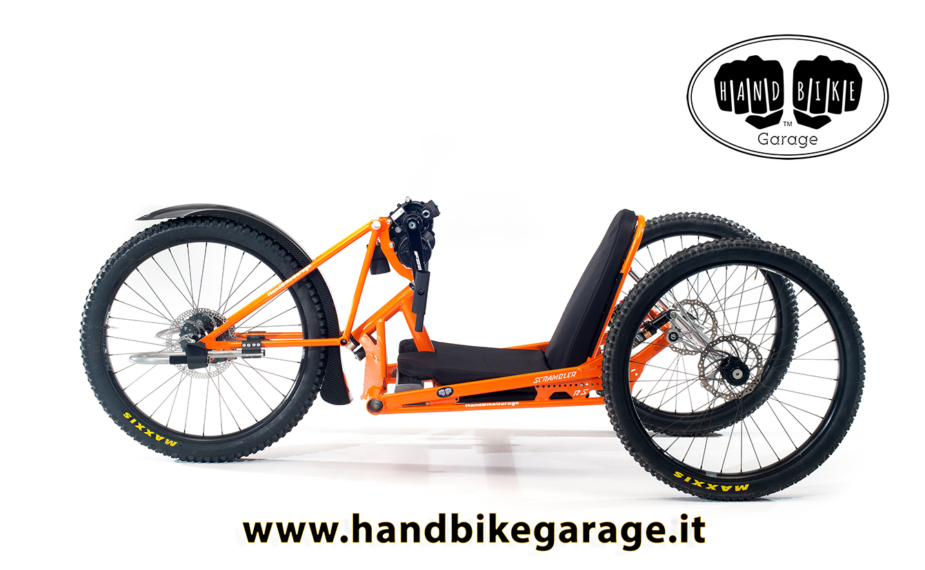 Scrambler RS handcycle