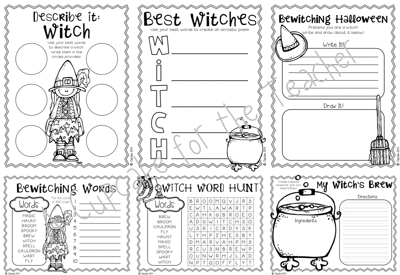 Little Witch Kids Craftivities Amp Printables