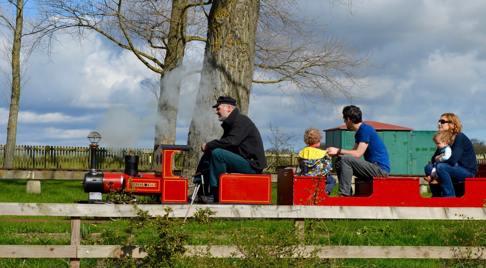 Exhibition Park Newcastle | Free miniature train rides