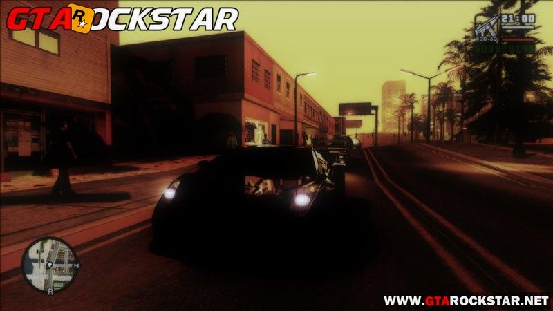NFS Rivals Graphics HD para GTA San Andreas