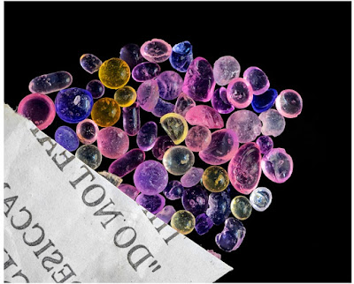 chỉ thị màu sắc của hạt hút ẩm silica gel