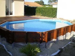 piscine en kit bois. Black Bedroom Furniture Sets. Home Design Ideas
