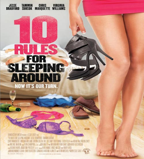 [18+] 10 Rules for Sleeping Around 2013 BluRay 300MB