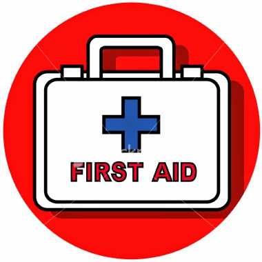 "Home and Travel First Aid Kits Home first aid kits are usually used for treating these types of minor traumatic injuries:  •	Burns  •	Cuts  •	Abrasions (scrapes)  •	Stings  •	Splinters  •	Sprains  •	Strains  First aid kits for travel need to be more comprehensive because a drug store may or may not be accessible. In addition to personal medical items, the kit should contain items to help alleviate the common symptoms of viral respiratory infections such as these:  •	Fever  •	Nasal congestion  •	Cough  •	Sore throat  It should also contain items to treat these ailments:  •	Cuts  •	Mild pain  •	Gastrointestinal problems  •	Skin problems  •	Allergies   How to Make a First Aid Kit 	Try to keep your first aid kit small and simple. Stock it with multi-use items. Almost anything that provides good visibility of contents can be used for a household first aid kit. 	If your kit will be on the move, a water-resistant, drop-proof container is best. 	Inexpensive nylon bags, personal kits, fanny packs, or make-up cases serve very well. 	You do not need to spend a lot of money on a fancy ""medical bag."" Use re sealable sandwich or oven bags to group and compartmentalize items.  	Put wound supplies in one bag and medications in another.   How to Use a First Aid Kit Make sure you know how to properly use all of the items in your kit, especially the medications. Train others in your family to use the kit. You may be the one who needs first aid! Pack and use barrier items such as latex gloves to protect you from bodily fluids of others. Check the kit twice a year and replace expired medications.    Where to keep your first aid kit 	The best place to keep your first aid kit is in the kitchen. Most family activities take place here. The bathroom has too much humidity, which shortens the shelf life of items.  	The travel kit is for true trips away from home. Keep it in a suitcase or backpack or dry bag, depending on the activity.  	A first aid kit for everyday use in the car should be just like the home first aid kit. For that matter, you could keep similar kits in your boat (inside a waterproof bag), travel trailer, mobile home, camper, cabin, vacation home, and wherever you spend time.   What to Put in Your Household Kit You can buy all items for your first aid kits at a well-stocked drug store. Ask the pharmacist for help in selecting items.   Home kit: A household first aid kit should include these items: 1.	Adhesive tape  2.	Anesthetic spray (Bactine) or lotion (Calamine, Campho-Phenique) - For itching rashes and insect bites  3.	4"" x 4"" sterile gauze pads - For covering and cleaning wounds, as a soft eye patch  4.	2"", 3"", and 4"" Ace bandages - For wrapping sprained or strained joints, for wrapping gauze on to wounds, for wrapping on splints  5.	Adhesive bandages (all sizes)  6.	Diphenhydramine (Benadryl) - Oral antihistamine for allergic reactions, itching rashes. Avoid topical antihistamine creams because they may worsen the rash in some people.  7.	Exam gloves - For infection protection, and can be made into ice packs if filled with water and frozen  8.	Polysporin antibiotic cream - To apply to simple wounds  9.	Non adhesive pads (Telfa) - For covering wounds and burns  10.	Pocket mask for CPR  11.	Re-sealable oven bag - As a container for contaminated articles, can become an ice pack  12.	Safety pins (large and small) - For splinter removal and for securing triangular bandage sling  13.	Scissors  14.	Triangular bandage - As a sling, towel, tourniquet  15.	Tweezers - For splinter or stinger or tick removal    What to Put in Your Travel Kit Travel kit: A travel first aid kit may contain these items:  	Adhesive tape  	4"" x 4"" sterile gauze pads  	Antacid - For indigestion  	Anti diarrheal (Imodium, Pepto-Bismol, for example)  	Antihistamine cream  	Antiseptic agent (small bottle liquid soap) - For cleaning wounds and hands  	Aspirin - For mild pain, heart attack  	Adhesive bandages (all sizes)  	Diphenhydramine (Benadryl) - Oral antihistamine  	Book on first aid  	Cigarette lighter - To sterilize instruments and to be able to start a fire in the wilderness (to keep warm and to make smoke to signal for help, for examples) 	Cough medication  	Dental kit - For broken teeth, loss of crown or filling  	Exam gloves  	Small flashlight  	Ibuprofen (Advil is one brand name)  	Insect repellant  	Knife (small Swiss Army-type)  	Moleskin - To apply to blisters or hot spots  	Nasal spray decongestant - For nasal congestion from colds or allergies  	Non adhesive wound pads (Telfa)  	Polysporin antibiotic ointment  	Oral decongestant  	Personal medications and items  	Recharge your mobile phones and keep charged battery is important to reach your friends and relatives in case of emergency  	Plastic re sealable bags (oven and sandwich)  	Pocket mask for CPR  	Safety pins (large and small)  	Scissors  	Sunscreen  	Thermometer  	Tweezers 	A card contains name of the medicines that allergic to you and your family members     Important First Aid Procedures ""Learning First-aid is a civic responsibility of each and every person"" May be defined as ""on the spot"" and immediate help or aid to help any fellow being in physical distress or serious disease, which may be life threatening.  Aims of First Aid: •	To preserve life  •	To promote recovery  •	To prevent any complication  General Rules of First Aid  •	Restore breathing  •	Restore heart beat if stopped  •	Arrest bleeding  •	Prevent shock  •	But do not do or attempt anything in which you have no expertise. Do no harm!  FIRST - AID FOR ASPHYXIA / CHOKING / SUFFOCATION  (E.g. Fire accidents, victims trapped in smoke, building collapse, choking by food or something swallowed)  •	DON'T be Panicky & run helter shelter.  •	DON'T rush out through same exits - use emergency exits.  •	DON'T be too selfish, be helpful to other victims.  •	Once out of danger area/site of accident move victims to safer and open place.  •	Try to clean soot from nostrils with any clean cloth, preferably wet.  •	If victim is dazed or unconscious - remove or loosen constricting dress or ornaments on neck and chest.  •	If victim is not breathing, give mouth to mouth breathing.  •	Evacuate all serious victims to nearby clinic or Hospital.  •	Learn Heimlich manoeuvre in case of choking while swallowing.   FIRST - AID FOR ELECTROCUTION / ELECTRIC SHOCK / ELECTRIC BURNS Prevention  •	Check electrical wirings at intervals at home  •	Inform electricity department if you see any loose connection, detached wires on road side.  •	Don't walk blindly at night in rainy season.  •	Keep electrical goods and plug points out of reach of children. In case of electrical shock / burn  •	Push the victim off the contact, protecting yourself, using proper insulation. Stand on a bundle of newspaper.  •	Switch off the mains and use a wooden pole to push victim  •	Check if victim is breathing and check pulse (heartbeat)  •	Cardiopulmonary resuscitation (CPR) if necessary.  •	In case of electrical burn, treat and give first aid as in burn or fire accident.   FOOD POISONING generally occurs due to consuming contaminated water or food. It is fairly common in places where mass cooking takes place. Food handlers like cooks & servers are the main culprits. It can also occur at home. To prevent food poisoning: •	Cook food items, especially meat, properly & well.  •	Do not allow diseased individuals inside the kitchen.  •	Do not purchase food items from unauthorised and unhygienic shops.  •	Don't consume any food items beyond the expiry date.  •	Keep kitchen / place for cooking clean and free from lizards and flies.  •	Ensure proper hygienic measures by all food handlers - like trimming finger nails, disease free fingernails, washing hands with soap and water after toilet, before handling any food items.  •	Avoid eating or drinking juices etc. on roadside, where flies are likely to contaminate. In case of food poisoning: •	Identify the culprit food item.  •	Seek medical advice for all those affected.  •	Educate victims and public how to safeguard one self.    CHEMICAL POISONING  (Accidental or suicidal) •	Do not keep poisonous chemicals within reach of children; keep them under lock.  •	In case of suspected poisoning, induce vomiting by putting finger into mouth and throat or by giving salted water.  •	Keep the victim flat, head turned to one side when vomiting.  •	Keep sample of vomits for analysis.  •	Remove soiled clothes & wash out any stains over the body.  •	Seek expert medical aid as soon as possible.   ROAD ACCIDENTS to avoid road accidents •	Don't drive too fast.  •	Obey traffic rules and give proper signals while driving.  •	Anyone suffering from fits or under the effect of sedatives, alcohol etc - not to drive a vehicle.  In case of any accident •	Carefully extricate victim from vehicle.  •	Do not handle wounded (fractured) limb unnecessarily.  •	See if victim is breathing and check pulse.  •	Clean and remove any loose material inside mouth and throat to clear airway.  •	Keep victim in lying position and in safe place.  •	Control bleeding by application of pressure with folded clean cloth.  •	While shifting, shift in one piece to prevent dislocation or aggravation of spine injury.  •	Loosen or cut garments or ornaments causing pressure on neck, chest or abdomen.  •	Seek expert medical advice at the earliest to transport and treat the victim.    EPILEPSY OR FITS every time a person goes into fits, it is injurious to his health and can produce complications.  To prevent an epileptic from throwing fits: •	He should take prescribed preventive drugs regularly and as long as advised by his doctor.  •	Epileptic should not be allowed access to fire in kitchen, swimming pool, moving machinery or car driving.  •	Not to go or work at heights, unattended.   In case of fits: •	Turn head to one side in lying position, to allow saliva to come out.  •	Clear airway as in any unconscious patient.  •	Elevate lower jaw and press on chin to keep mouth open and avoid biting tongue.  •	Keeping any blunt object or folded kerchief between teeth to prevent biting tongue to be done cautiously, since pushing there too far into throat will cause obstruction to airway.  •	Arrange to seek medical attention.     UNCONSCIOUS / COLLAPSED PATIENT If a person has collapsed or fallen down or found unconscious, it may be due to several diseases. The first aider should do no harm; he should ensure that victims breathing & heartbeat is restored and try and prevent any further harm to the victim. •	Turn head to one side to allow vomits or saliva to come out.  •	Clear airway and mouth if obstructed.  •	Check for breathing and heartbeat / pulse and feel for pulse (carotid pulse) in the neck. If one or both are absent institute cardiopulmonary resuscitation. (cardiac massage and mouth to mouth breathing - ""The kiss of life"")  •	Do not give any oral feeds to an unconscious patient.  •	Keep the victim warm - don't leave him unattended.  •	Arrange to get medical attention at the earliest.    DROWNING  Don't jump into water or indulge in water sports without knowing swimming. Epileptics to avoid swimming. In case of drowning, after the victim is brought ashore do the following:  •	Turn victim face down with head turned to one side and arms stretched above the head. Children can be held upside down.  •	Raise belly of victim to drain water from the lungs.  •	Remove wet cloth and keep body warm.  •	If victims is conscious hot drinks may be given.  •	Transfer to nearby hospital at the earliest.    BURNS AND SCALDS  Following common situations in our daily life predispose to burn accident. Avoid them.  •	Use of pressure stove.  •	Nylon and other inflammable dress in the kitchen.  •	Use of open flame bed-lamp.  •	Not taking proper precautions while using cooking gas.  •	Floor level cooking.  •	Children and epileptics in kitchen, without supervision.  •	Firing crackers inside the house.  •	Smoking in bed.  •	Not taking proper precautions while using electrical appliances.  •	Storing inflammable materials like petrol in the house.  FIRST-AID FOR BURNS following common situations in our daily life predispose to burn accident. Avoid them.  •	Victim of fire accident should lie on floor and roll slowly.  •	Put out flame by covering with thick blanket.  •	Pour water or even mud or sand (in an open place) to put out the fire.  •	Use ice cold water or compresses- start early and continue for 15-20 minutes.  •	Wash hands and remove tight rings and bangles and loosen dress.  •	Don't apply any local medication till a qualified Doctor sees.  •	Cover the burn victim with clean or freshly laundered cloth.  •	For chemical burn, bathe the affected area with plenty of water - victim to have a good shower. Loosen and remove dress soaked in chemical.  •	For electrical burns, switch off the mains before attending to the victim or take due precautions against getting a shock oneself.  •	Seek medical help as early as possible.  CARDIOPULMONARY RESUSCITATION FOR YOURSELF  CPR (Cardiopulmonary Resuscitation) For Yourself: What To Do If You Have a Heart Attack While You Are Alone. The Johnson City Medical Centre (USA) staff actually discovered this, and did an in-depth study on it in our ICU. The two individuals that discovered this then did an article on it, had it published, and even had it incorporated into ACLS and CPR classes. It has worked, and does work. It is called ""Cough CPR"".  A cardiologist says it's the truth. Read this — it could save your life!   A Typical Scenario:  Let's say it's 6:15 PM and you're driving home — alone of course — after an unusually hard day on the job. You're really tired, upset, and frustrated.  Suddenly you start experiencing severe pain in your chest that starts to radiate out into your arm, and up into your jaw. You are only about five miles from the nearest hospital. Unfortunately you don't know if you'll be able to make it that far.  What can you do? You've been trained in CPR (Cardiopulmonary Resuscitation), but the guy that taught the course didn't tell you what to do if it happened to yourself. First advice: pull to the side of the road, stop your car, and turn the flashing hazard lights on.   How to Survive a Heart Attack When Alone? Since many people are alone when they suffer a heart attack, this article seems to be in the order. Without help, the person whose heart is beating properly, and who begins to feel faint, has only about 10 seconds left before losing consciousness.  However, these victims can help themselves by coughing repeatedly, and very vigorously. A deep breath should be taken before each cough, and the cough must be deep and prolonged, as when producing sputum from deep inside the chest. A breath and a cough must be repeated about every two seconds without let up until help arrives, or until the heart is felt to be beating normally again.  Deep breaths get oxygen into the lungs, and coughing movements squeeze the heart and keep the blood circulating. The squeezing pressure on the heart also helps it regain normal rhythm. In this way, heart attack victims can get to a hospital.       ==--=="