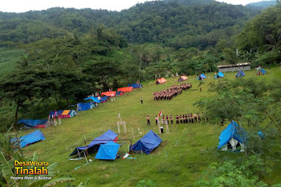 desa wisata di kulon progo yogyakarta untuk camping - desa wisata tinalah
