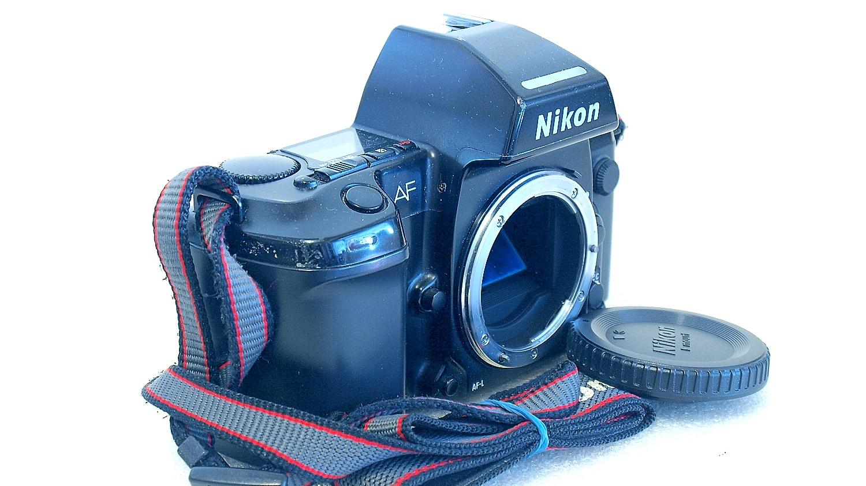 Nikon F801s with MF-21 Back #895-1