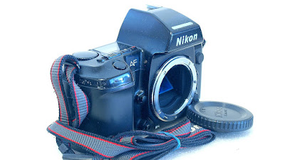Nikon F801s with MF-21 Back #895-1