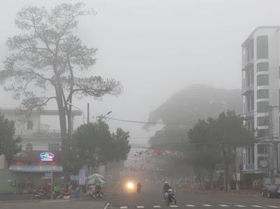 Sương mỏng Pleiku