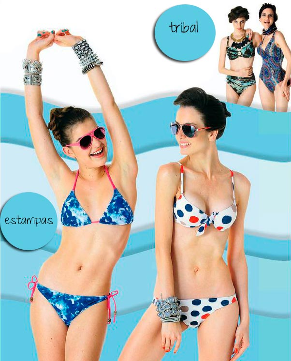 BIKINIS VERANO 2013 Estampadas, Tribal