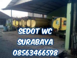 Sedot WC Benowo Surabaya Barat