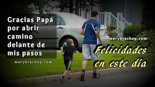 imágenes con frase  para el padre en su feliz dia, mensajes cortos del padre por Mery Bracho